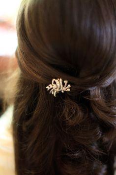 hair pin.