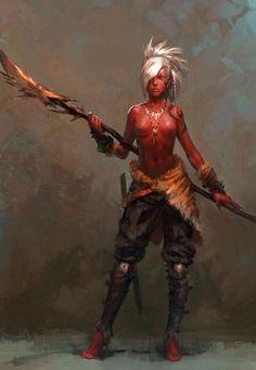 Crimson elf