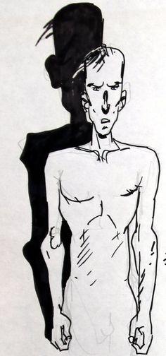 """Cossu - """"Boskovich en de wraak van de trommelaar"""" 1D met tekening van Cossu - W.B."""
