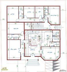 اضغط هنا  لغلق أواضغط وحمل للصورة المؤثّرة. Square House Plans, 2bhk House Plan, 3d House Plans, Indian House Plans, Simple House Plans, Model House Plan, Home Design Floor Plans, Duplex House Plans, House Layout Plans