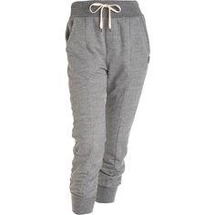 Ever Boy/Girl Fit Sweat Pant - Grey ($110) ❤ liked on Polyvore