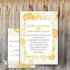 yellow wedding invitations Yellow Wedding Invitations, Wedding Invitations Online, Wedding Blog, Wedding Styles, Wedding Ideas, Invite Your Friends, Flower Decorations, Compass, Spring Time