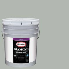 Glidden Diamond 5 gal. #HDGCN11 Dusty Miller Eggshell Interior Paint with Primer
