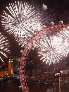 Not only is Christmas great in London, but there's also the 2014 New Year fireworks.
