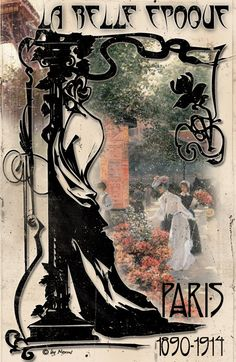 Belle Epoque was the name for an artistic and style movement that existed mostly in Europe from the about 1871-1914.