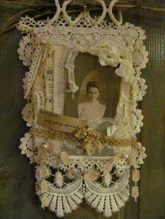 A gorgeous creation of dearest Ann of The Tin Rabbit blog.