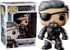 Funko Pop! Arrow: Deathstroke Unmasked - The Mighty Collector