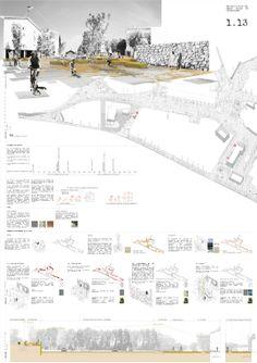 Concurso Peatonalización del Centro Urbano de Torrelodones FaseII_Panel1