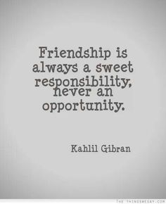 Lovely friendship quote