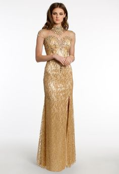 Vintage inspired evening dress #camillelavie #beaded #capsleeve #holidaydresses