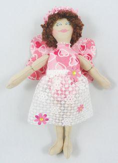 Valentine's Fairy Doll  Faerie Art Doll  Handmade by JoellesDolls