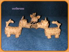 Собака из... бересты - Ярмарка Мастеров - ручная работа, handmade
