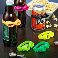 Bottle Goggles Drink Markers - 6 vibrant colors drink markers can #beer_accessories