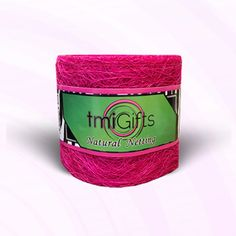 "10-12 Yards Pink Green Iridescent Stripe Sheer Wired Ribbon 1 1//2/""W"
