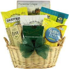 Stash tea gift basket with gourmet sweets negle Image collections