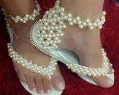 Decoración de sandalias