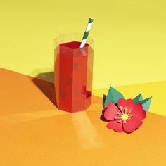 VO | Valérie Oualid : Agent d'illustrateurs | Alexis Facca | Libération Illustrations, Paper Art, Design, Food, Artist, Papercraft, Illustration, Illustrators