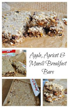 These Apple, Apricot & Muesli Breakfast Bars draw their inspiration from…