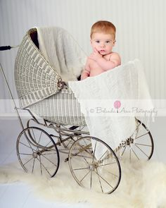 antique baby buggy ~ https://www.facebook.com/belindaannphotography