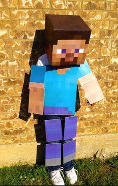 DIY Minecraft Costumes - my son loves minecraft!