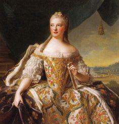 Marie-Josèphe de Saxe, Dauphine de France, Jean-Marc Nattier (1685–1766), ca. 1750, mother of 3 kings: Louis XVI, Louis XVII, Charles X.
