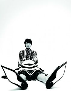 Chiharu Okunugi by Mel Bles for POP Magazine (S/S 2013)