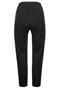 Eden Pant - Black Lurex Stripe