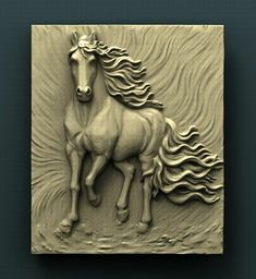 How To Woodworking Videos Clay Wall Art, Mural Wall Art, Mural Painting, Clay Art, Art Sculpture En Bois, Horse Sculpture, Wood Carving Designs, Wood Carving Art, Feuille Aluminium Art