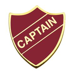 Captain, Badges Shield | ML Badge Shop (1.51 CAD) ❤ liked on Polyvore featuring hogwarts, harry potter and accessories