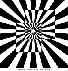 Immagine vettoriale stock 114252412 a tema Op Art Known Optical Art Style (royalty free) - Op art, also known as optical art, is a style of visual art that makes use of optical illusions – - Illusion Kunst, Illusion Drawings, Illusion Art, Optical Illusion Quilts, Optical Illusions, Geometric Designs, Geometric Art, Art Sketches, Art Drawings