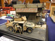 M1151 HMMWV 1/35 Scale Model Diorama