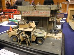 M1151 HMMWV 1/35 Scale Model Diorama