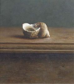 Henk Helmantel, A still life with a shell