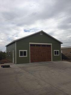 1000 images about tuff shed garages on pinterest garage for Oversized garage doors