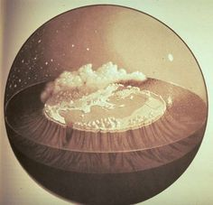 Illustration of the Celestial sphere around the time of Homer, ca. 800BCE