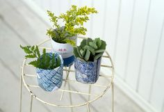 recycled paper seed starting pots // pot press from terrain