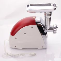 New Red 2000W Electric Sausage Stainless Steel Power Kitchen Meat Maker Grinder NEW -- See this awesome image  : Small Appliances