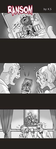 Silent Horror :: Ransom | Tapastic Comics - image 1