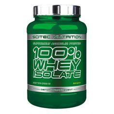 100% Whey Isolate de Scitec Nutrition est un isolat de whey de haute qualité, riche en acides aminés et pauvre en glucides et ipides.