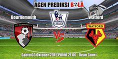 Prediksi Bola Bournemouth vs Watford 3 Oktober 2015