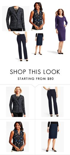 """TALBOTS"" by fultonhoward ❤ liked on Polyvore featuring Talbots"