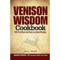 This venison cookbook is jam packed with recipes. Even if your just starting out in the kitchen or a chef you can pass up celebrity recipes, including some from Ted Nugent, Mark Drury, Jim & Ann Casada, Charlie Alsheimer, and more. $7.99