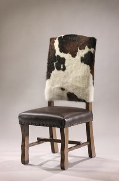 Cowhide Dining Chair http://rusticartistry.com/product/cowhide-dining-chair/
