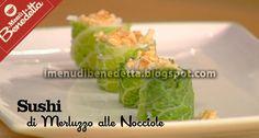 #Piatto di #sushi di merluzzo alle nocciole @Come Guarnire I Piatti