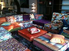 Mah Jong Sofa From Rochebobois. Fell In Love With This Beautiful Sofa As We  Walked Pictures