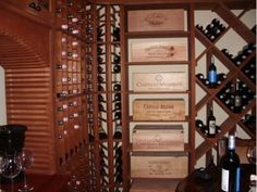 Closet Factory, Wine Cellar #Winestorageunits #Buildingawinecellar Learn more: http://www.closetfactory.com/
