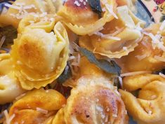 A Li'l Bit of Spice – Brown Butter Toasted Tortellini Types Of Sauces, Brown Butter Sauce, Marinara Sauce, Tortellini, Pesto, Snack Recipes, Wordpress, Toast, Spices