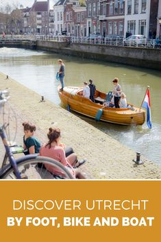 Discover Utrecht by foot, bike and boat. Would you like to discover Utrecht, The Netherlands? It's a great off the beaten track place to visit and only 30 minutes from Amsterdam. Here's how you discover Utrecht by foot, bike and boat Visit Amsterdam, Amsterdam City, Amsterdam Travel, Lloyd Hotel Amsterdam, Victoria Hotel Amsterdam, Red Light District, Medieval Town, Utrecht, Train Travel