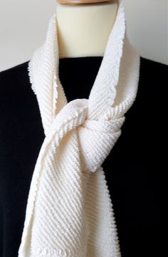 S38 Creamy white obiage/scarf; full shibori luxurious and fluid;amazing texture.Vintage but perfect! by LizzieHuxtable on Etsy