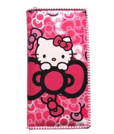Amazon.com  Hello Kitty Hot Pink BOWS Wallet 7 1 2